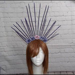 Purple Paradise Headpiece